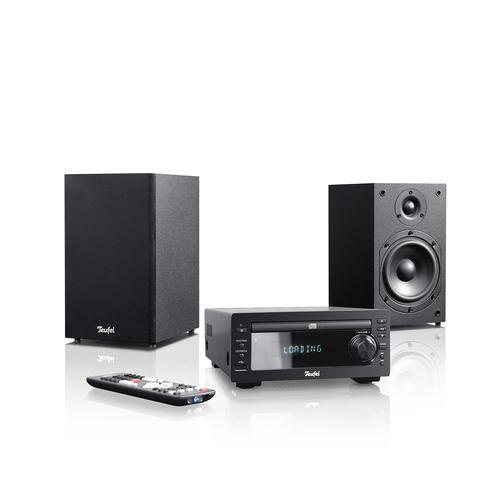 teufel kombo 20 hifi stereo anlage im micro format schwarz. Black Bedroom Furniture Sets. Home Design Ideas