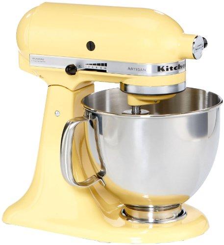 KitchenAid Küchenmaschine Artisan gelb  5KSM150PSEMY