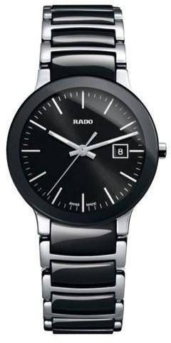 rado centrix black dial two-tone ceramic ladies watch r30935162,video review,(VIDEO Review) Rado Centrix Black Dial Two-tone Ceramic Ladies Watch R30935162,
