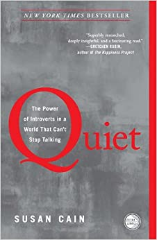 Book cover - Quiet: The Power of Introverts in a World That Can't Stop Talking by Susan Cain