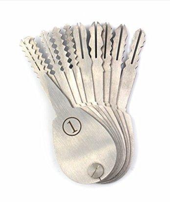 DmsBang-20-Pieces-Lock-Locksmith-Padlock-Tools-Set-Pliers-Scissor-Box-Packing10-Pieces-Shims