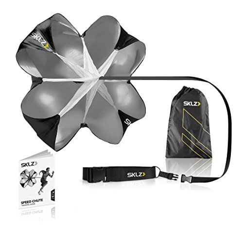 SKLZ Speed Resistance Training Parachute with Free SKLZ Carry Bag