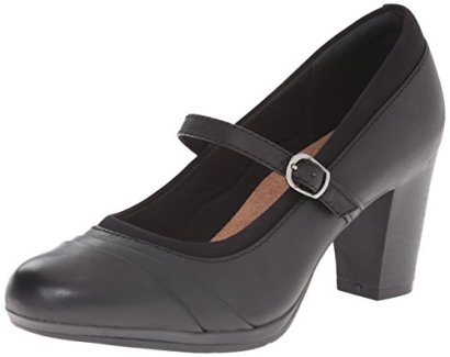 Clarks-Womens-Brynn-Ivy-Dress-Pump-Black-Leather-8-M-US