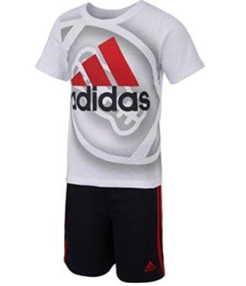 Adidas-Boys-2-7-2-Piece-ClimaCool-Athletic-Shorts-Set-w-UV-Protection-6-WhiteBlack