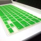 TopCase® GREEN Keyboard Silicone Cover Skin for Macbook 13