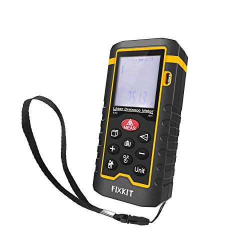 Fixkit レーザー距離計 LCDデジタル表示 バックライト付き 最大測定距離60m TL-D1