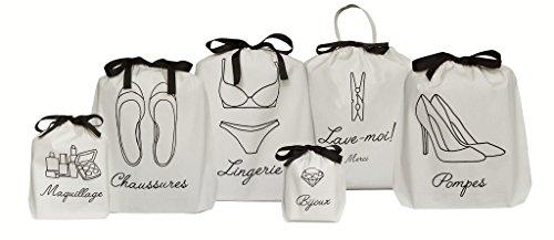 Bag all (バッグオール)*フレンチコレクション 6枚set [並行輸入品]