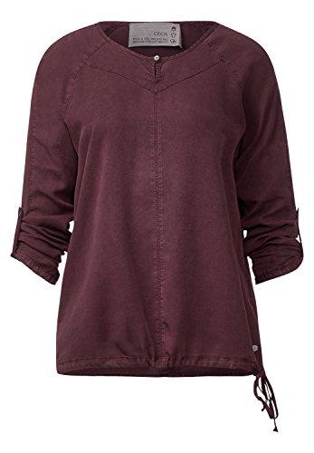 CECIL Damen Bluse aus feinem Lyocell