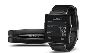 Garmin vívoactive Black bundle (Includes Heart Rate Monitor)