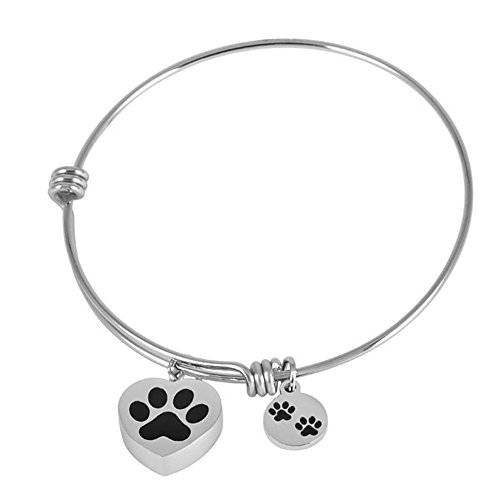 Pet Paw Print  Bangle