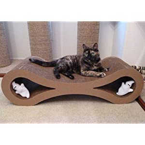 Infinity Cat Scratcher Lounge