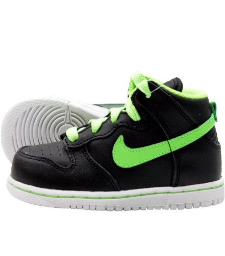Nike - Dunk High ND TD - Black Electric Green White, Größe 8 US - 25 EU