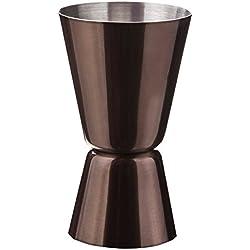 Vacu Vin 78325606 - Vaso para medir doble, para diferentes medidas