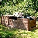 FSC Classic Triple Wooden Compost Bin