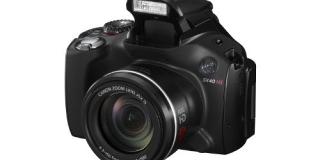 Canon SX40 HS 12.1MP Digital Camera Review