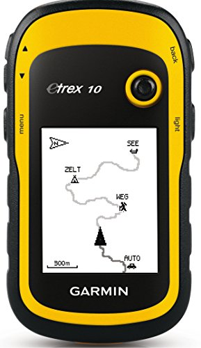 Garmin eTrex 10 Worldwide Handheld Hiking GPS