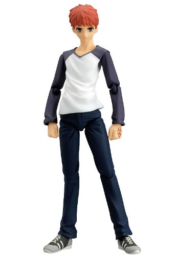 Fate/Stay Night : Shiro Emiya Using Casual Wear Figma Figure
