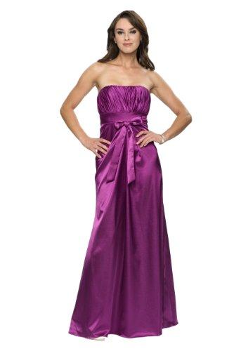 Astrapahl, Elegantes Festliches  Abendkleid, lang, Farbe beere