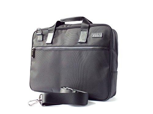 Poros Black Ballistic Nylon Charging Slim Briefcase Apple Lightning Alder