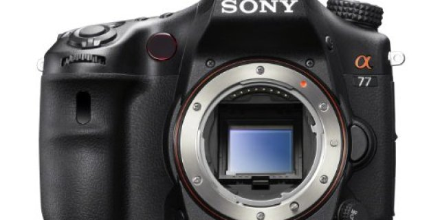 Sony A77 24.3 MP Digital SLR Review