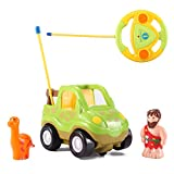 Cartoon R/C Dinosaur Safari Car Radio Control Toy by Liberty Imports (ENGLISH Packaging)