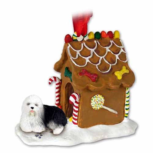 OES Gingerbread House Christmas Ornament