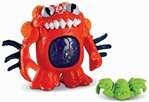 Fisher-Price Imaginext Space Deluxe Red Alien: Amazon.co ...