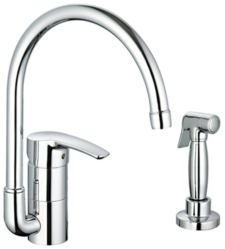 Buy Grohe 33 980 001 Eurostyle Kitchen Faucet With Hose And Spray Starlight Chrome Black Friday Sale Cyber Monday Black Friday Grohe Kitchen Faucets