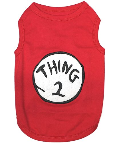 Pet Clothes THING 2 Dog T-Shirt - Small