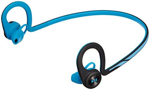 【国内正規品】 PLANTRONICS 両耳 Bluetooth ワイヤレスヘッドセット BackBeat Fit Blue BACKBEATFIT-BL -