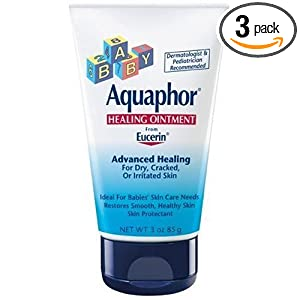 Aquaphor Baby Healing Ointment, 3oz (Pack of 3)