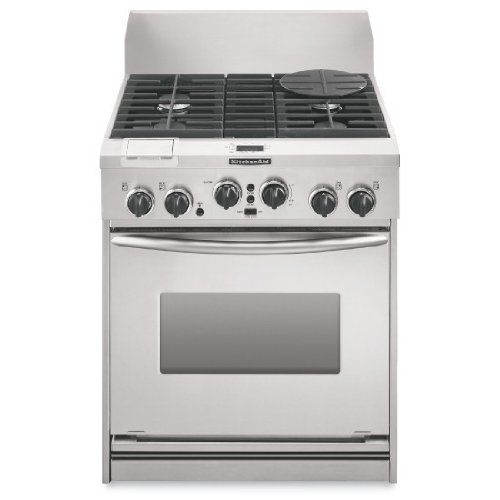 KitchenAid Architect Series : KDRP707RSS 30 Pro Style Dual Fuel Range   Stainless Steel