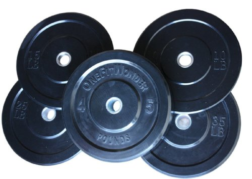 260 Lbs New Bumper Plates Set Olympic Plates