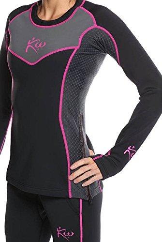 New Women's - Kutting Weight (cutting weight) neoprene weight loss sauna shirt (Medium)