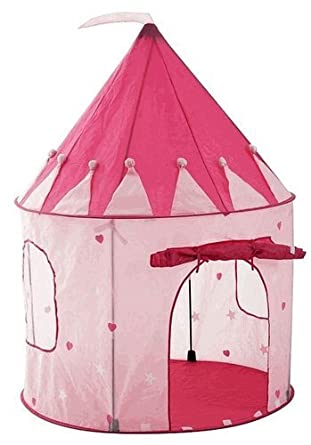Girl's Playhouse Pink Princess Castle Play Tent