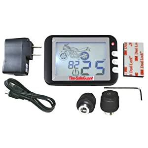 Motorcycle Tire Pressure Monitoring System (TPMS)