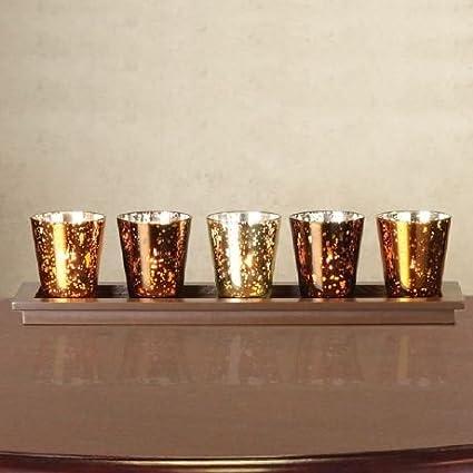 Gold Christmas Candles Christmas Tablescape Decor
