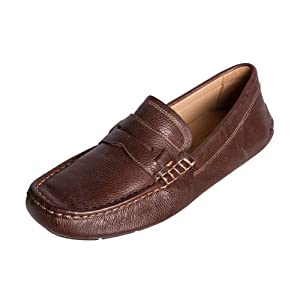 7793b473ece375 Sapatoterapia Shoetherapy 20113 All Day Mens Coffee Brown Leather Loafer  Shoe