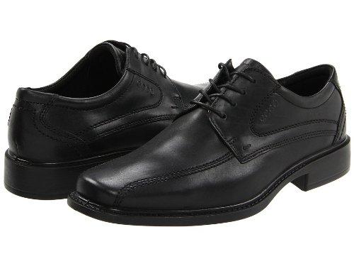 (エコー) ecco 靴・シューズ メンズシューズ ECCO New Jersey Tie Black Santiago Full-Grain Leather EU 42 (26 - 26.5cm) M