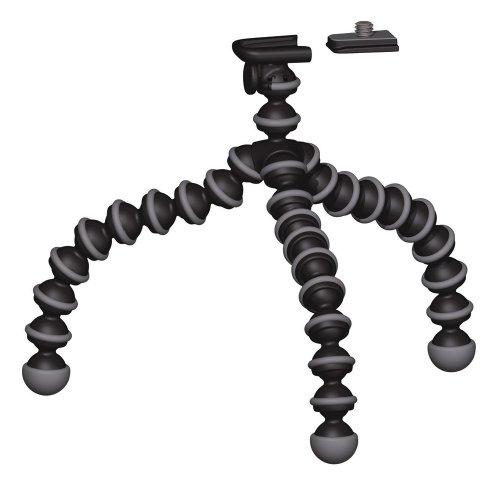 Joby Gorillapod GP1 Klemmstativ (für Kameras bis 325g) schwarz/grau