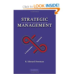 Strategic Management: A Stakeholder Approach - Book by R.E. Freeman