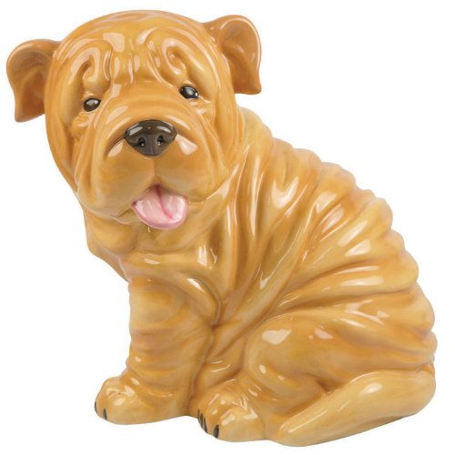 Westland Giftware Kookie Jars Shar Pei Puppy Cookie Jar, 10-1/2-Inch