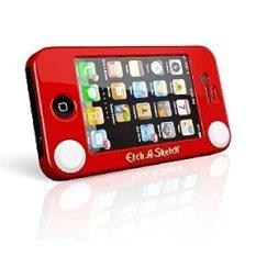 Headcase Etch-a-Sketch iPhone 4/4s case fun iphone case red retro
