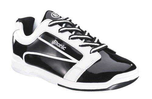 Bowlingschuhe Damen Dazzel Schwarz m. Weiß