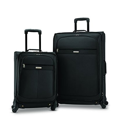 American-Tourister-Lightweight-Two-Piece-Spinner-Set-2125-Black