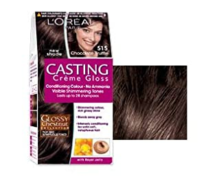 l oreal paris casting creme gloss hair colour 515 chocolate truffle beauty