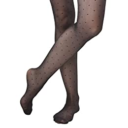 Product Image Merona® Womens Spaced Dot Tight - Black