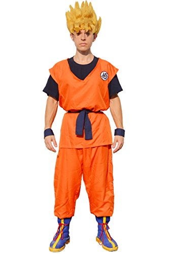 dragon ball z costume goku - Dragon Ball Son Goku Cosplay Costume (M)