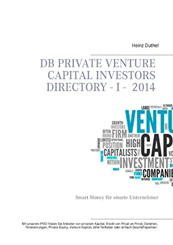 Buchcover: DB Private Venture Capital Investors Directory I - 2014