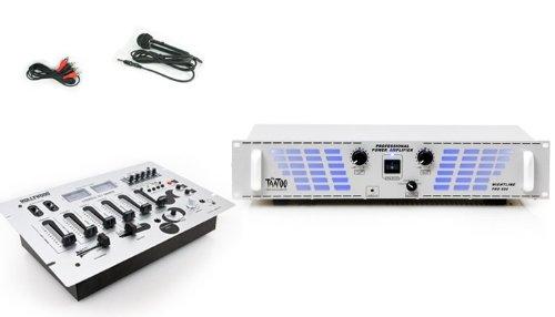 PA DJ 1800W Verstärker USB Mischpult DJ-297